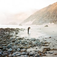 Intimate Elopement at Julia Pheiffer Burns State Beach Big Sur, California capture by The Why WE Love