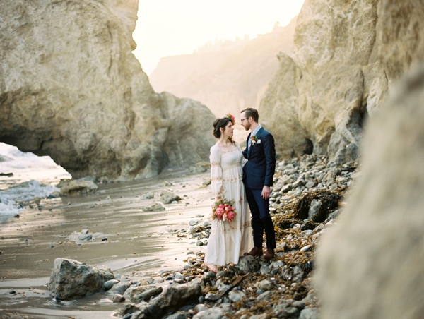 Malibu Elopement | El Matador State Beach Elopement by ©The Why We Love